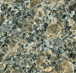 Charnockite - Image: Nara Brown Granite (charnockite) Quebec