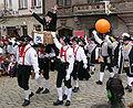 Narrenzunft Vetter Guser Sigmaringen Bräutlingsgesellen Narrentreffen Meßkirch 2006.jpg