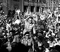 Nasser and RCC members welcomed by Alexandria, 1954.jpg