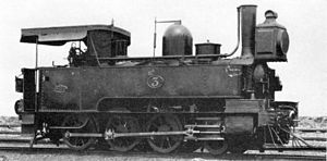 NGR Class K 2-6-0T - Image: Natal 2 6 0T 1877 no. 3