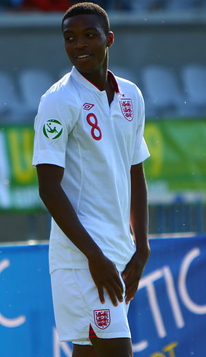 Nathaniel Chalobah - Chalobah playing for England under-18s in 2012