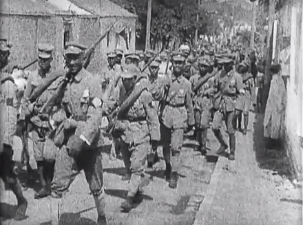 NRA soldiers marching National Revolutionary Army troops.png