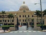 El Palacio Nacional de la República Dominicana.