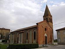 Chiesa della Natività di Maria nella frazione di Raccano.