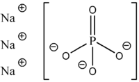 Strukturformel Natriumphosphat