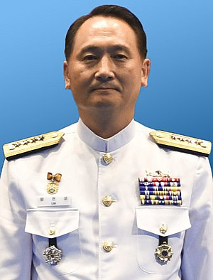 Chief of Naval Operations (South Korea) - Image: Navy (ROKN) Admiral Um Hyun seong 해군대장 엄현성 (US Navy photo 170905 N TB148 264, 20170905 International Seapower Symposium)