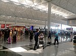 Near the check-in area in Hong Kong International Airport Terminal 1 03.jpg