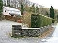 Neat hedges at Llwyngwern - geograph.org.uk - 1178075.jpg