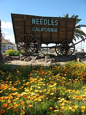 Needles, California - City sign