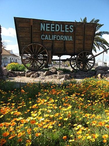 Needles mailbbox