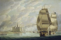 Nelson Forcing the Passage of the Sound, 30 March 1801, prior to the Battle of Copenhagen.jpg