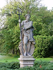 Lyndenstein, tuinbeeld voorstellende Neptunus