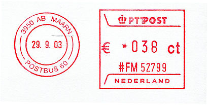 Netherlands stamp type P2.jpg