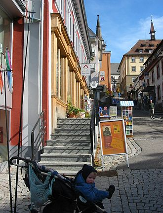 Titisee-Neustadt - Neustadt centre