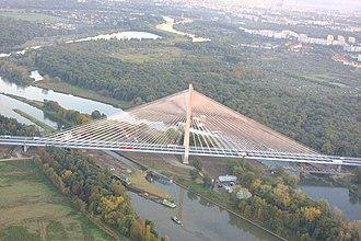 A8 autostrada (Poland) - Image: New bridge (Rędziński)