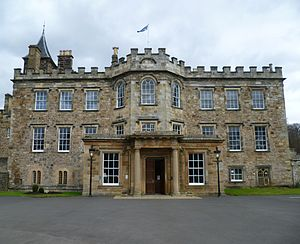 Archibald Campbell, 9th Earl of Argyll - Argyll's birthplace: Newbattle Abbey, Dalkeith.