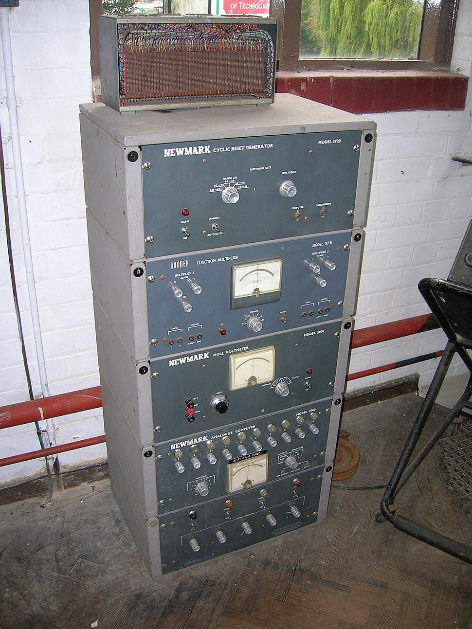 NewmarkAnalogueComputer