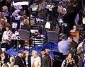 News set on floor of the 2008 DNC (2819206070).jpg