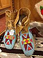 Nez Perce moccasins from around 1900 with blue beadwork.JPG