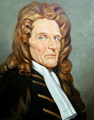 Nicholas Barbon - A rare portrait of Nicholas Barbon.