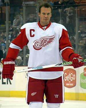Nicklas Lidström - Lidström at Mellon Arena in 2010.