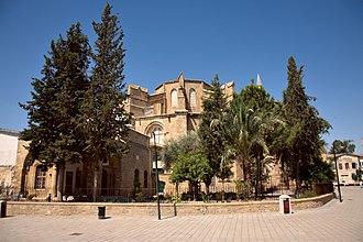 St. Sophia Cathedral, Nicosia - Image: Nicosia Selimiye Mosque 02