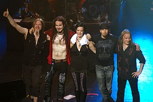 Nightwish en Melbourne en la jaro 2008