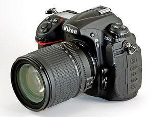 Nikon D300S - Image: Nikon D300s Front Mk 2 edit
