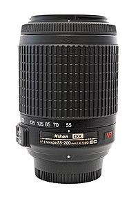 Nikon Af S Dx Zoom Nikkor 55 200mm F 4 5 6g Wikipedia