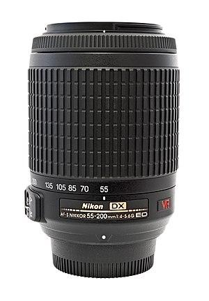 Nikon AF-S DX Zoom-Nikkor 55-200mm f/4-5.6G - VR version of the 55-200mm