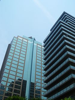 Nishishinjuku mitsui building and park side tower 2009.JPG