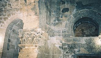 Nusaybin - The interior of the Church of Saint Jacob in Nisibis.