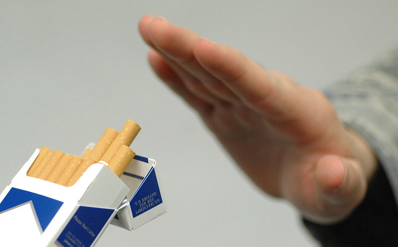 File:No Smoking - American Cancer Society's Great American Smoke Out.JPG