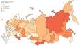 Nombre d'avortements en 2014 pour 1000 femmes en Russie par sujet de la Fédération.png