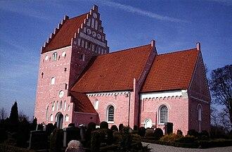 Aastrup, Falster - Aastrup Church