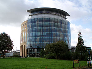 Gosforth - Image: Northern Rock Tower 1 October 2008