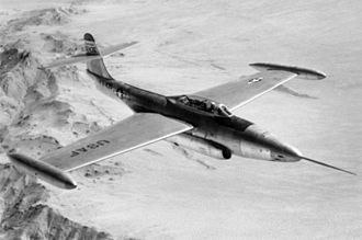 Northrop F-89 Scorpion - An early F-89A