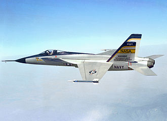 Northrop YF-17 - YF-17 in 1976 during a demonstration flight