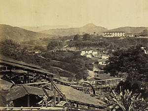Nova Lima - Image: Novo Lima (MG) St John Del Rey Mining Co 1869