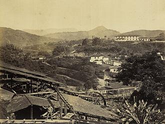 Morro Velho - Image: Novo Lima (MG) St John Del Rey Mining Co 1869