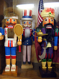 Nutcrackers from the Ore Mtns