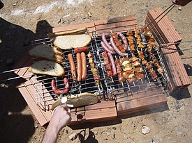 Gridiron (cooking) - Wikipedia