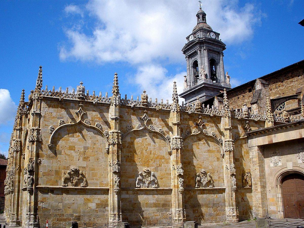 Iglesia de san miguel arc ngel o ate wikipedia la - Arquitectura pais vasco ...
