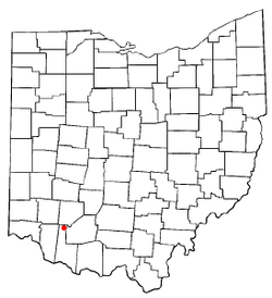 Location of St. Martin, Ohio