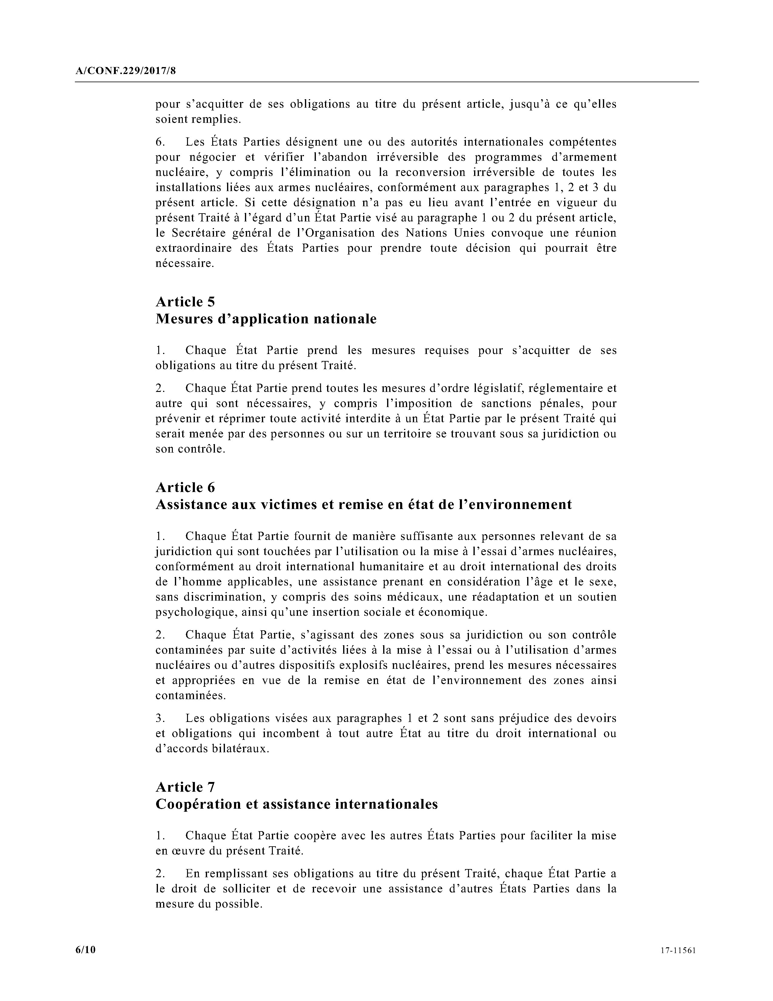 Page ONU Traité sur l interdiction des armes nucléaires 2017.djvu 6 ... b0bf58e45f2
