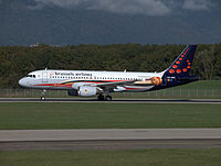 OO-SNC - A320 - Brussels Airlines