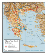Greek railways