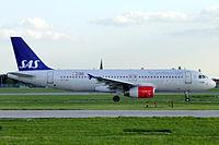 OY-KAU - A320 - SAS