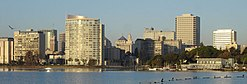 Skyline of Oakland, California