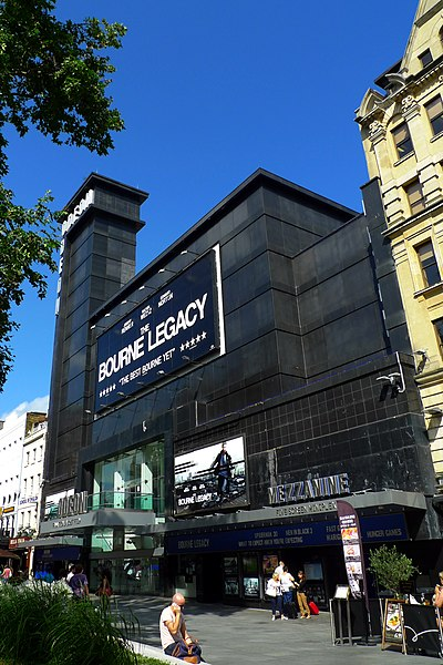 Odeon Leicester Square hosts numerous European and world film premieres.  Odeon, Cineworld and Vue